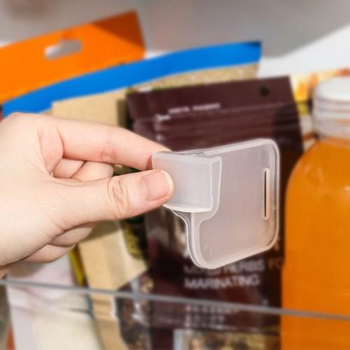다용도 냉장고 투명 보조 칸막이 4개세트_(1296962)