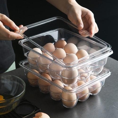 냉장고 계란 안전 보관 수납 투명 트레이_(1296892)