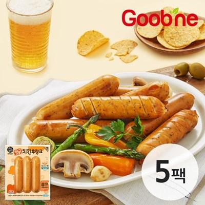 [굽네] 에어파티 탱글 치킨 후랑크 5팩