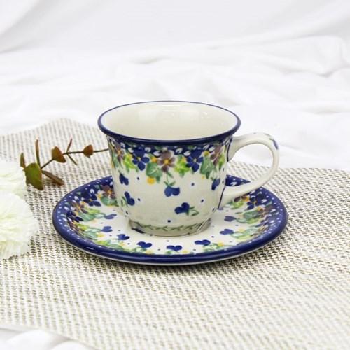 폴란드그릇 아티스티나 커피잔소서세트180ml 패턴2509
