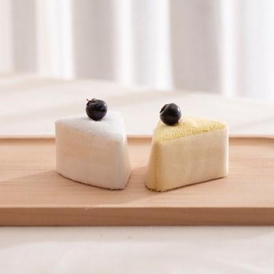 수건 조각 케이크 1P