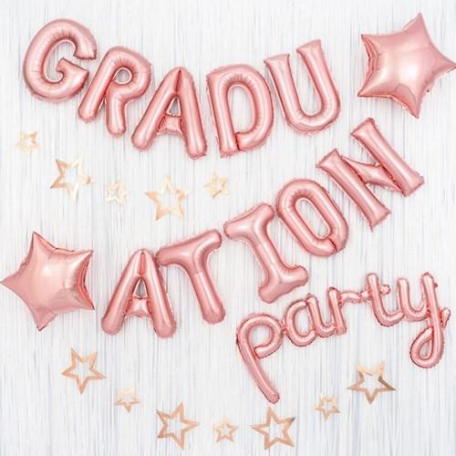 졸업 축하 파티장식세트 [그래듀에이션 파티 스타로즈]_(12181457)