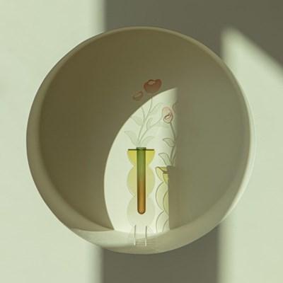 [studio riposo] 아크릴 화병 rounded vase L