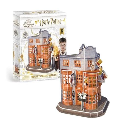 해리포터 위즐리 형제 장난감 가게 입체퍼즐  62피스_(2450549)