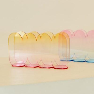 [studio riposo] 아크릴 매거진 랙 acrylic magazine rack