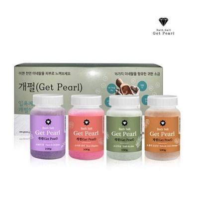 개펄(Get Pearl) 바스솔트 입욕제 400g / 프리미엄 소금 입욕제