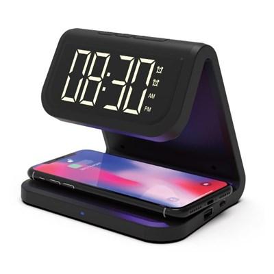 UV살균 무선 충전 알람시계 AL900UV