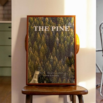 The Pine 더 파인 캔버스 포스터