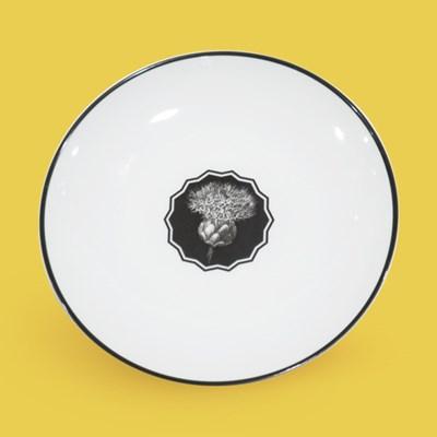 비스타 알레그레 허벌리아 디저트 접시 23cm_화이트