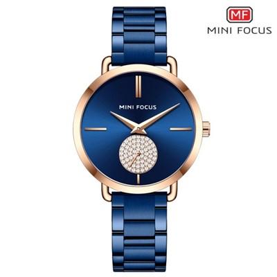 미니포커스 여성 메탈밴드 패션 손목시계 MF0222L04