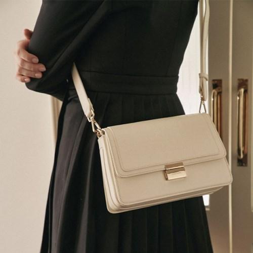 Letter bag (Croco ivory) - S003CIV