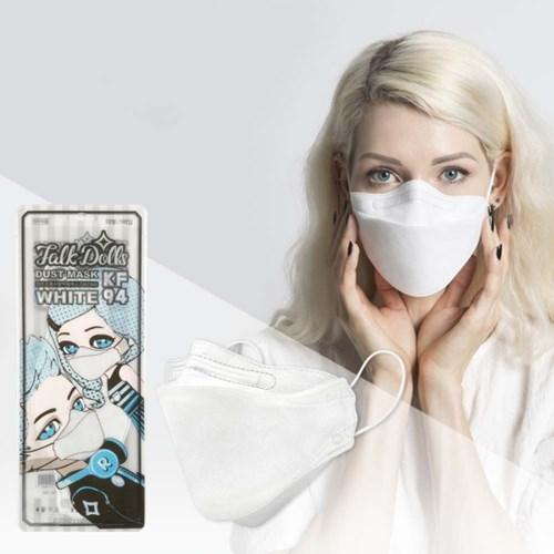 디자인패션황사방역용마스크대형(KF94)숨쉬기 편한 국내산 마스크