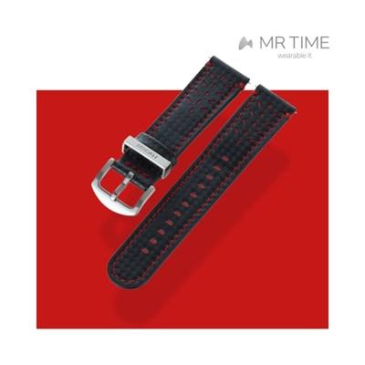 [MR TIME x DUCATI] 두카티 콜라보 시계줄 싱글 스티치 카본 파이버