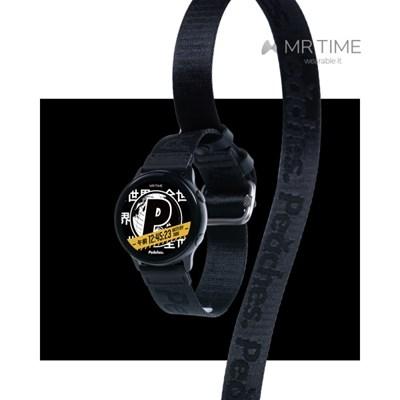 [MR TIME x Peaches] 피치스 콜라보 시계줄 블랙 20mm