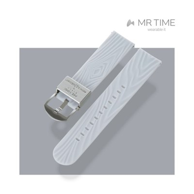 [MR TIME x Mother Ground] 마더그라운드 콜라보 시계줄 화이트 22mm