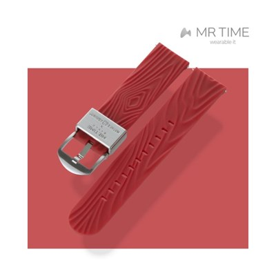 [MR TIME x Mother Ground] 마더그라운드 콜라보 시계줄 레드 22mm