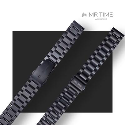 [MR TIME Metal] 스테인레스 스틸 메탈 브러쉬드 블랙