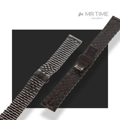 [MR TIM Metal] 스테인레스 스틸 메탈 블랙 브러쉬드 블랙