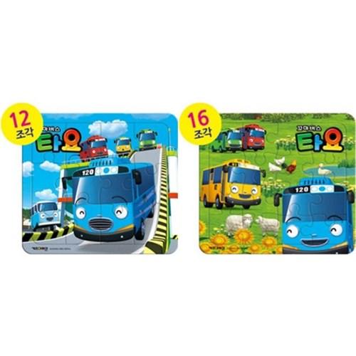 12 16조각 판퍼즐 - 꼬마버스 타요 (2종)