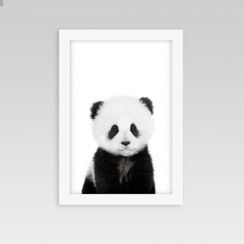 아이방 인테리어 동물액자 팬더