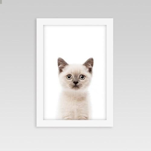 인테리어 동물액자 아기방 벽꾸미기 버먼고양이