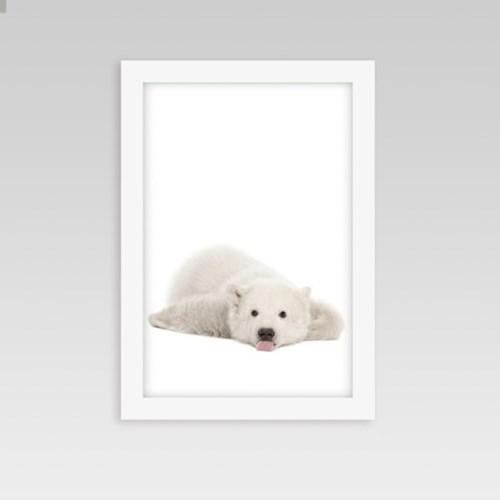 인테리어 동물액자 아기방 벽꾸미기 백곰