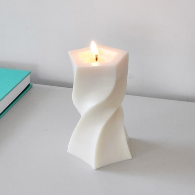 Unbalance Twist Candle - 베이직타입 (2colors)