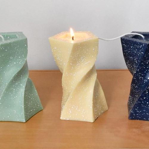 Unbalance Twist Candle - 도트타입 (3colors)