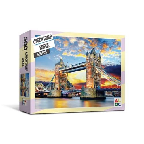 [액자포함]직소퍼즐 500조각 런던 타운 브릿지 AL5007