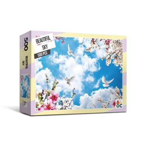 [액자포함]직소퍼즐 500조각 아름다운 하늘 AL5006