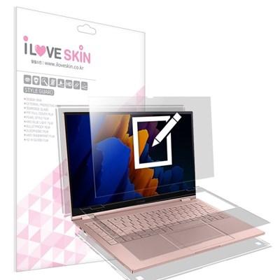 갤럭시북 플렉스2 15인치 종이질감 액정+외부필름 2매