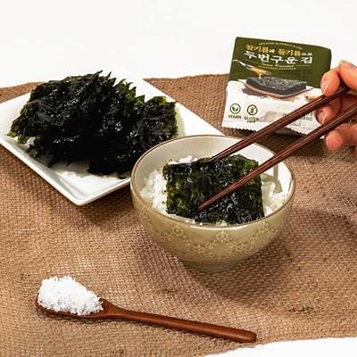 참들기름으로 두번구운 서천 조미김 72봉 맛보기 증정