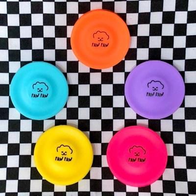 [파우파우] 캐치칩 강아지 미니원반 실리콘장난감