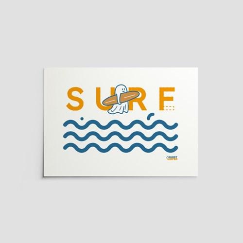 [퍼디] SURF? SURE! 포스터 A3 / A4
