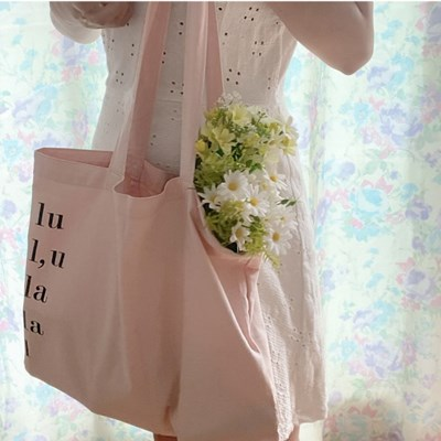 lala bag _ pink butter