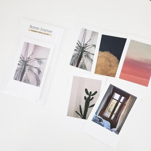 [본쥬흐네] 감성 사진 폴라로이드 스티커팩2 (10매)