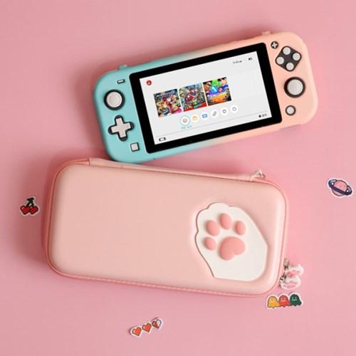 닌텐도스위치라이트 고양이발 파우치 GS2
