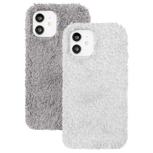 아이폰8플러스 뽀글이 심플 컬러 젤리 케이스 P571_(3489227)