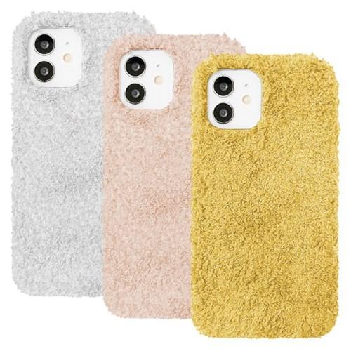 아이폰11프로맥스 뽀글이 심플 컬러 젤리 케이스 P571_(3489215)