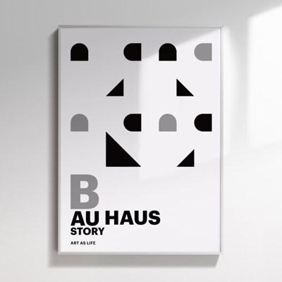인테리어액자 Bauhaus 001, Koo InHo (500X700(mm))
