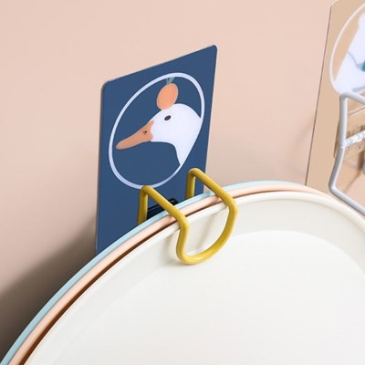 쿠이나 캐릭터 접착식 대야걸이 욕실걸이