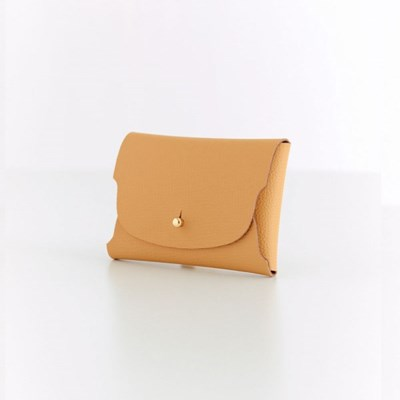 Soap Card Wallet_Mustard