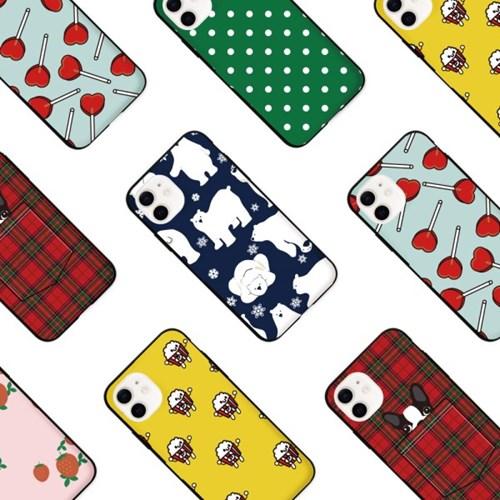 프루그나 아이폰 카드범퍼케이스24
