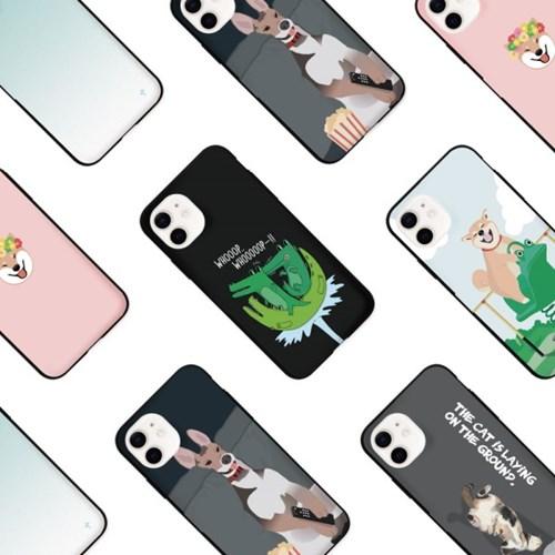 프루그나 아이폰 카드범퍼케이스43