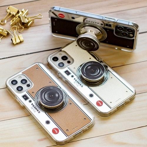 [플랜씨] 필름 카메라 스마트톡 케이스(UV 미러 하드 젤리)