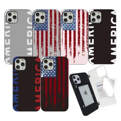 WK 아메리카 마그네틱 도어 범퍼 미러 카드 핸드폰 스마트폰 케이스