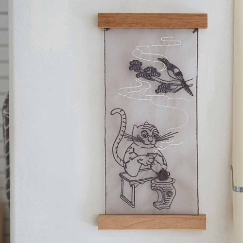 호작도 노방 포스터(The Painting of a Tiger and a Magpie)