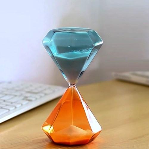 글라스 다이아몬드 모래시계(30분) 유리모래시계