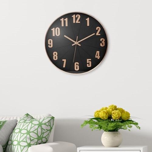 클락스 원형 벽시계(로즈골드)/ 거실 인테리어 벽시계
