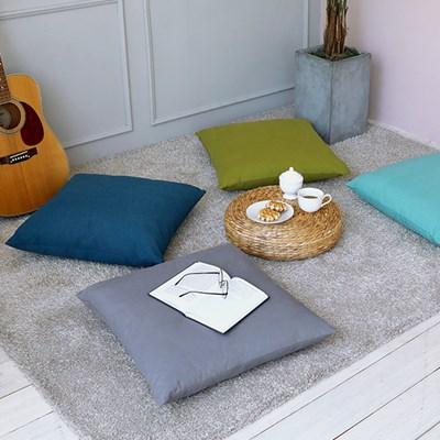 심플 의자 쇼파 방석 50x50